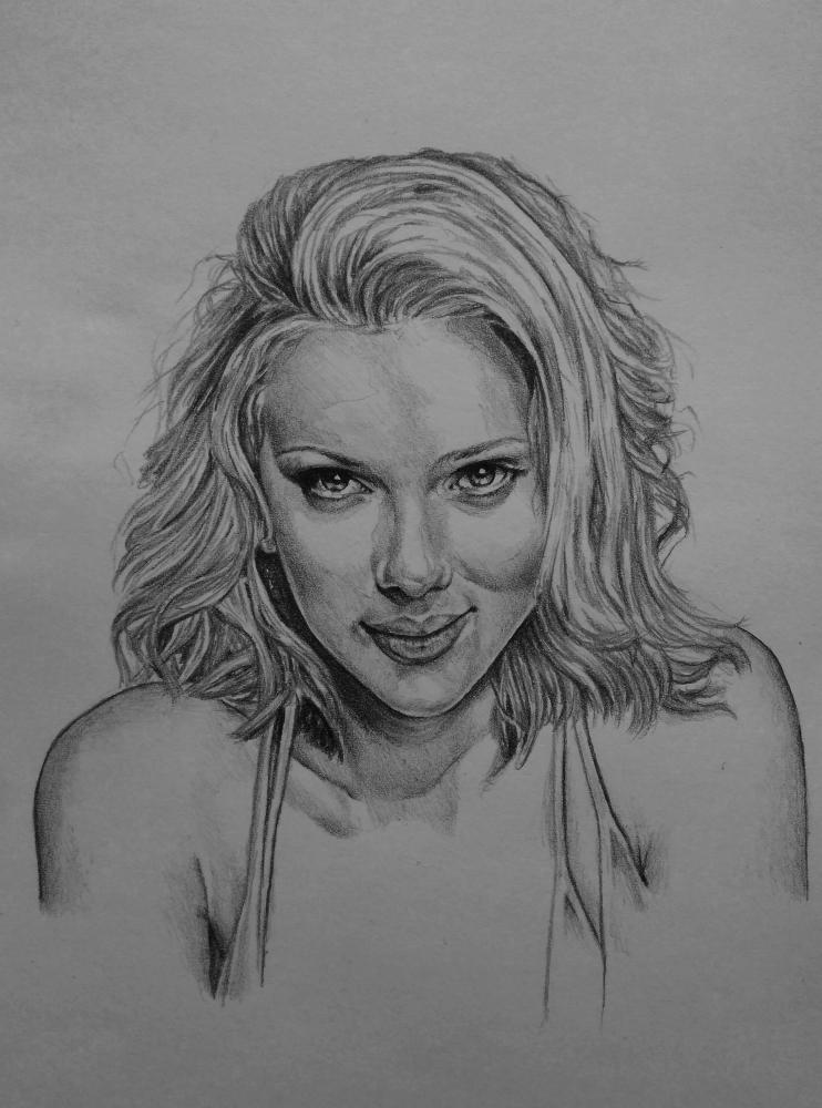 Scarlett Johansson por Esus